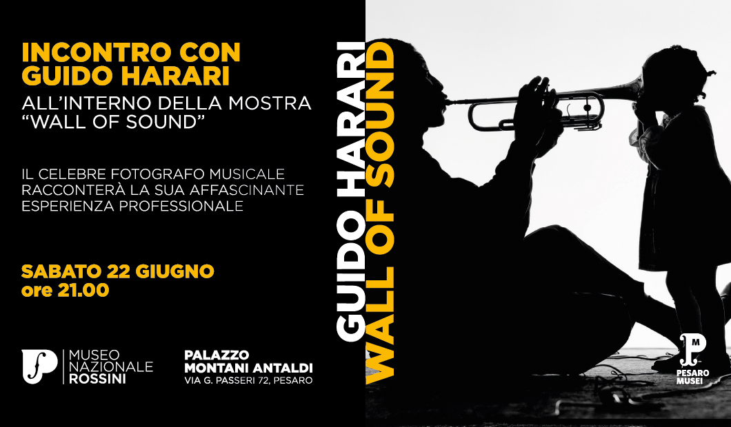 "Incontro con Guido Harari alla mostra ""Wall of Sound"""