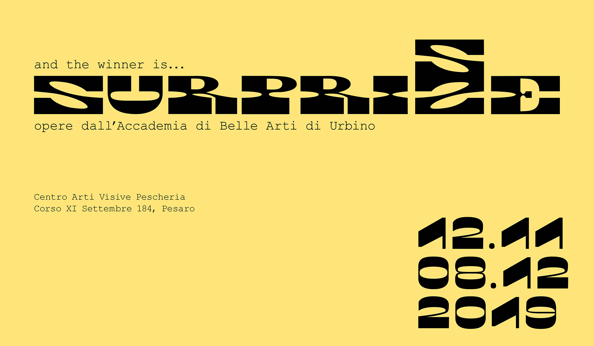 In arrivo la mostra &quote;Surprize&quote; in Pescheria